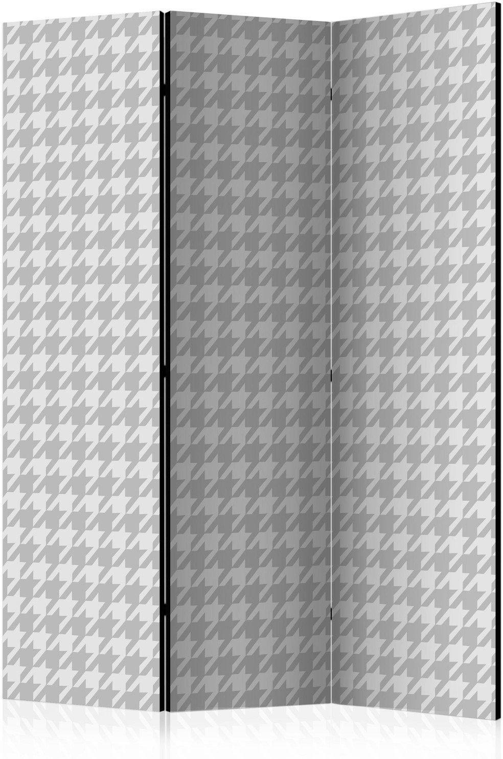 Parawan 3-częściowy - pepitka [room dividers]