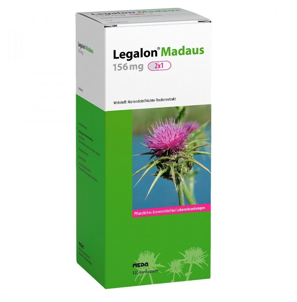Legalon 156 mg Madaus Hartkapseln