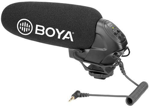 BOYA BY-BM3031 - superkoroidalny mikrofon typu Shotgun BOYA BY-BM3031
