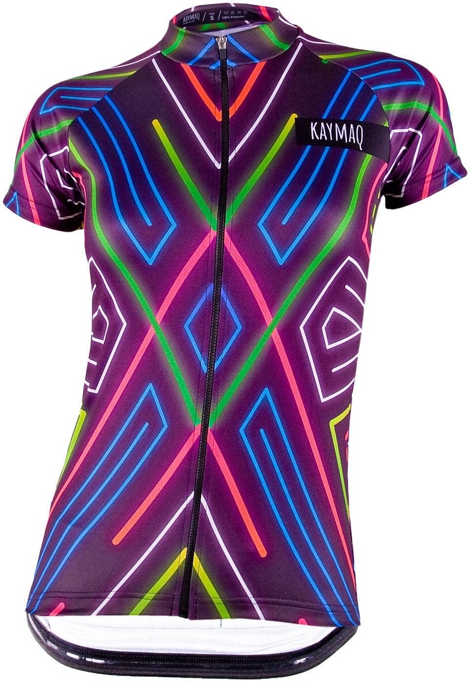 KAYMAQ W1-W08 Damska koszulka rowerowa Rozmiar: S,kyq-w08-ss