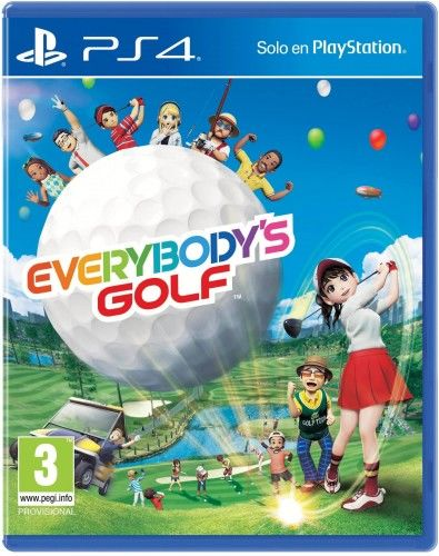 Everybody''s Golf PS4