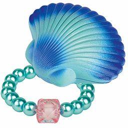 moses 30592 magiczna muszla syrenka z bransoletką z pereł ze szkła dla dzieci, różowy