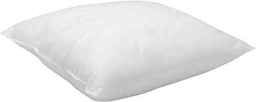 Pikolin Home - Hipoalergiczna kwadratowa poduszka z włókna, średnia wytrzymałość, 50 x 50 cm, wysokość 16 cm