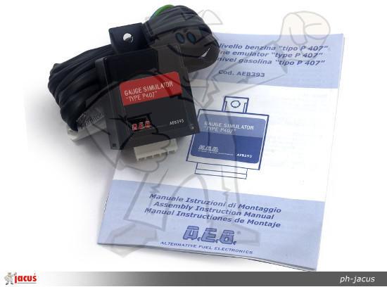 E69 Emulator wskaźnika poziomu paliwa AEB 393 Peugeot
