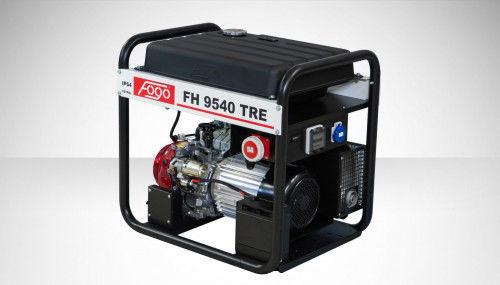 Fogo FH 9540 TRE Agregat prądotwórczy trójfazowy 400V/230V - AVR automatyczny regulator napięcia, powiększony zbiornik paliwa, elektryczny rozrusznik