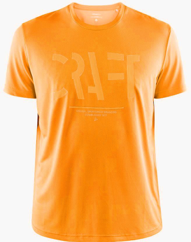 CRAFT EAZE MESH męska koszulka sportowa / do biegania pomarańczowa 1907018-557000 Rozmiar: L,1907018-557000