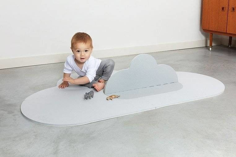 Quut - Quut Mata do Zabawy Piankowa Podłogowa Chmurka Playmat Pearl Grey