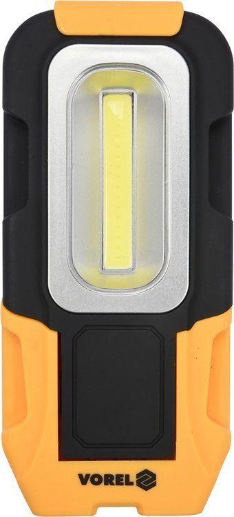 LAMPA RĘCZNA OBROTOWA COB LED Vorel 82724 - ZYSKAJ RABAT 30 ZŁ