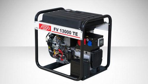 Fogo FV 13000 TE Agregat prądotwórczy trójfazowy 400V/230V - elektryczny rozrusznik, powiększony zbiornik paliwa