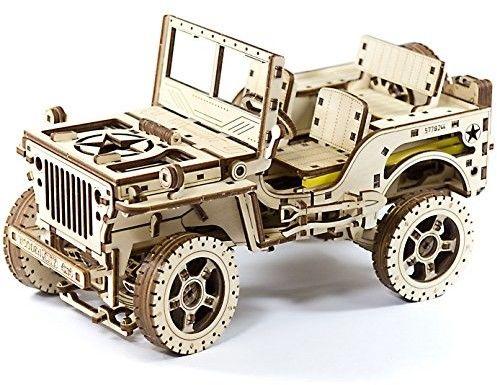 Puzzle 3D Jeep 4x4