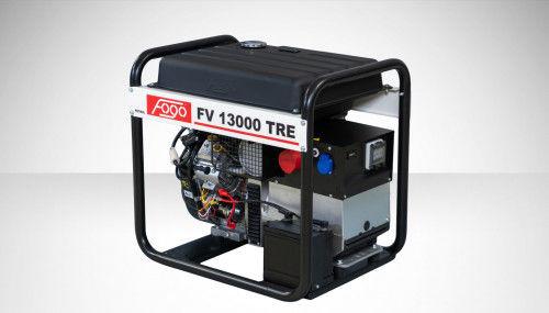 Fogo FV 13000 TRE Agregat prądotwórczy trójfazowy 400V/230V - AVR automatyczny regulator napięcia, powiększony zbiornik paliwa, elektryczny rozrusznik