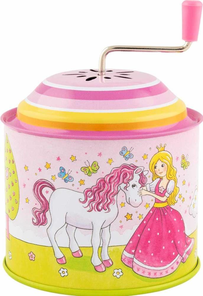 Metalowa katarynka Twinkle Twinkle Little Star Mała księżniczka 60722- goki, zabawki muzyczne