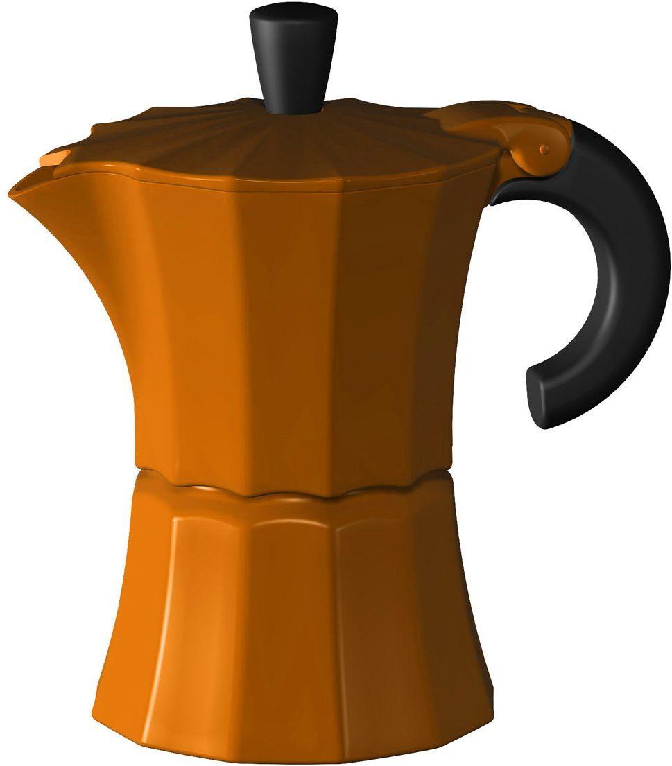 Gnali i i Zani MOR001ORANGE Morosina Coffee maker 1 filiżanka, pomarańczowy