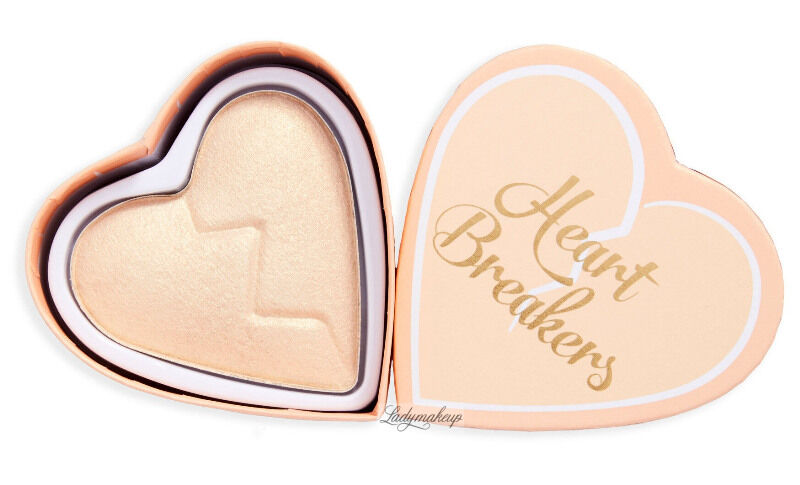 I Heart Revolution - Heart Breakers Highlighter - Rozświetlacz do twarzy - 10g - GOLDEN