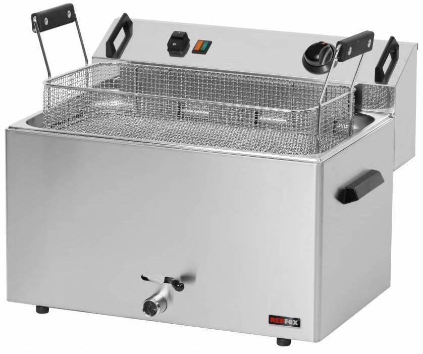 Frytownica elektryczna trójfazowa 16L 9000W 540x450x(H)370mm