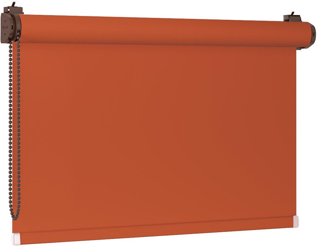 Roleta 100% zaciemnienia BLACKOUT Bezinwazyjna - Terracotta / Brązowy