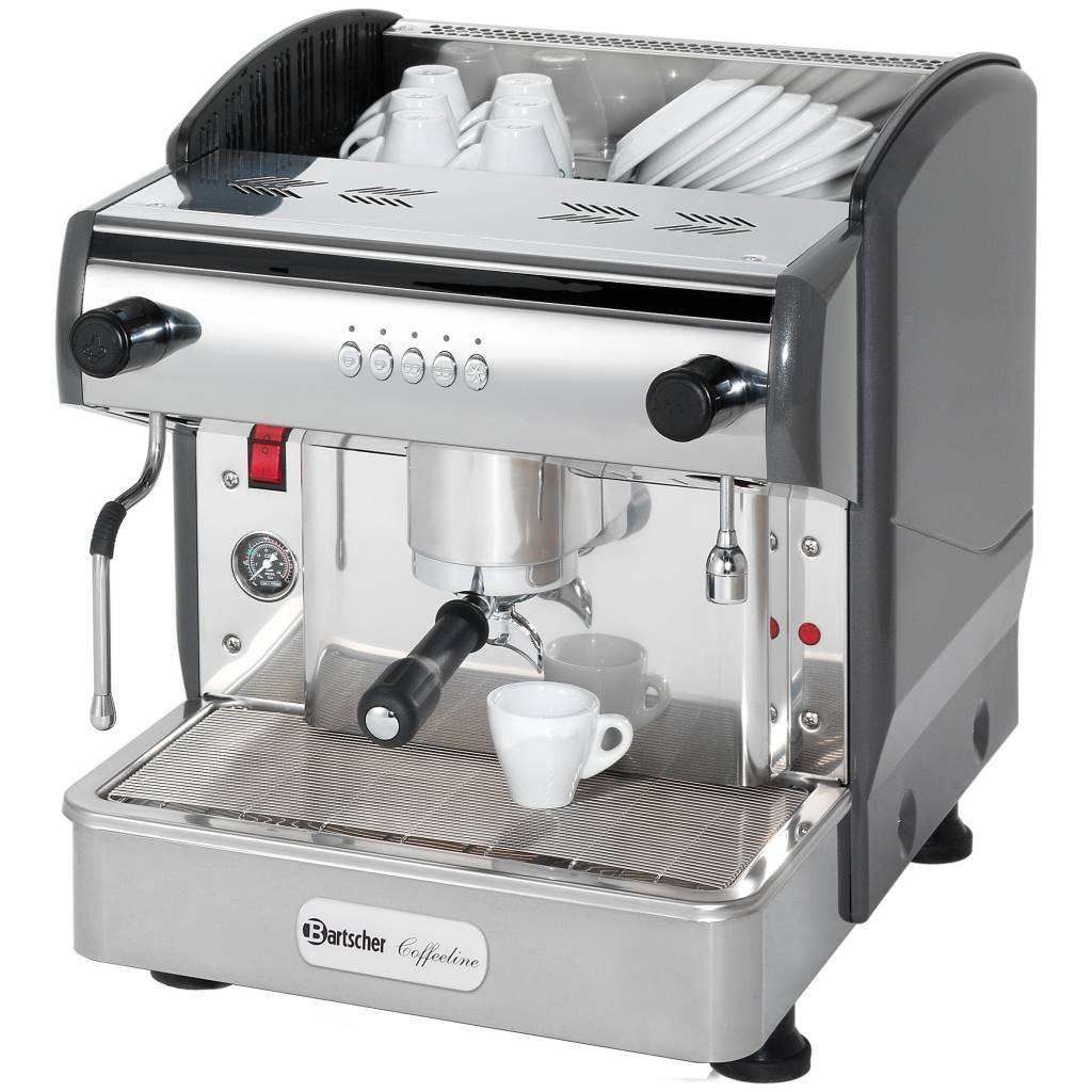 Bartscher Ekspres ciśnieniowy do kawy 1-grupowy Coffeeline G1 2850W - kod 190160
