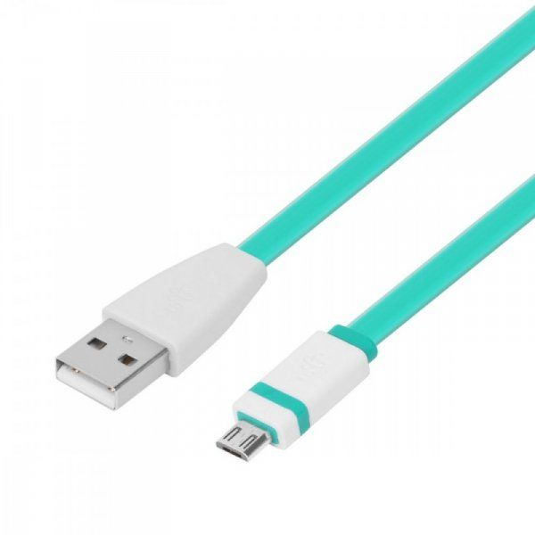 TB Kabel USB-Micro USB 1m. zielony