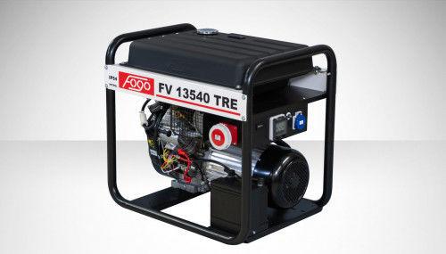 Fogo FV 13540 TRE Agregat prądotwórczy trójfazowy 400V/230V - AVR automatyczny regulator napięcia, powiększony zbiornik paliwa, elektryczny rozrusznik