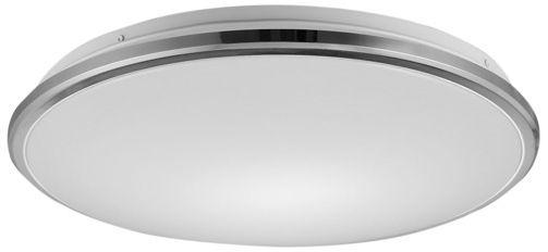 Plafon Bellis 12080022 Zuma Line okrągła oprawa w kolorze srebrnym