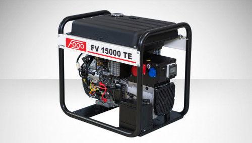 Fogo FV 15000 TE Agregat prądotwórczy trójfazowy 400V/230V - elektryczny rozrusznik, powiększony zbiornik paliwa