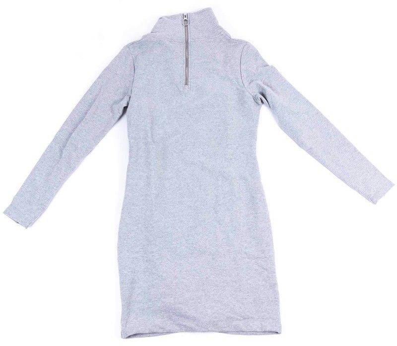 sukienka BENCH - Slim Funnel Dress Winter Grey Marl (MA1054)