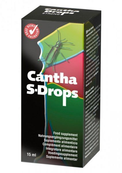 Supl.diety-Cantha Drops 15 ML West