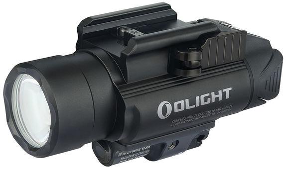 Latarka z celownikiem laserowym Olight BALDR RL - 1120 lumenów, Red Laser