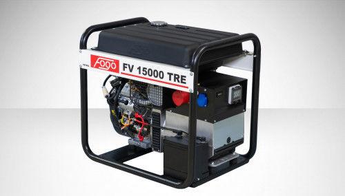 Fogo FV 15000 TRE Agregat prądotwórczy trójfazowy 400V/230V - AVR automatyczny regulator napięcia, powiększony zbiornik paliwa, elektryczny rozrusznik