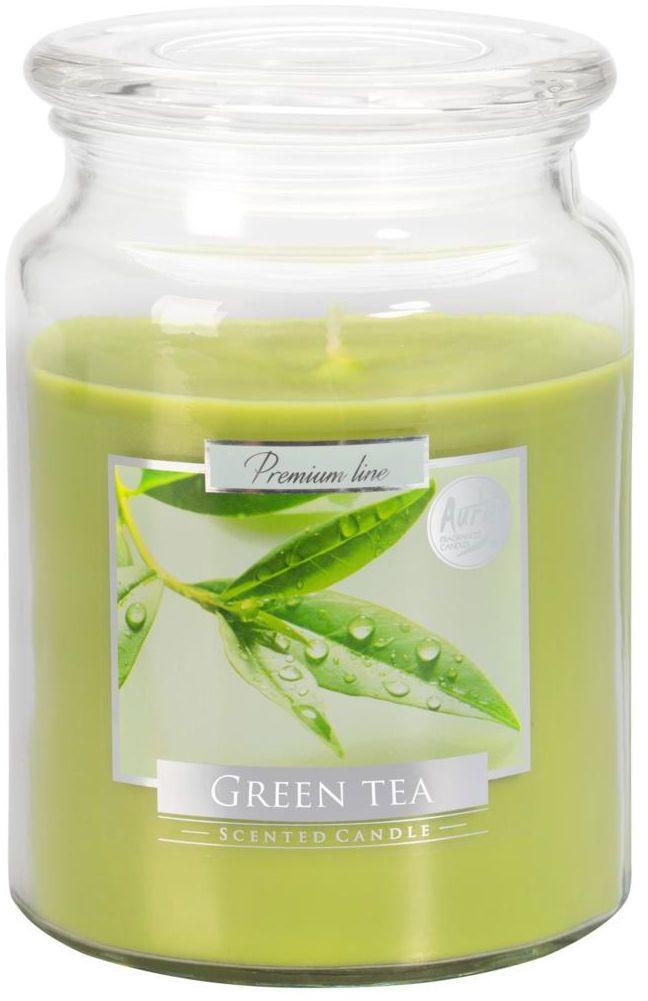 Świeca zapachowa w słoju Green Tea zielona herbata