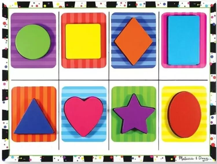 Puzzle kształty