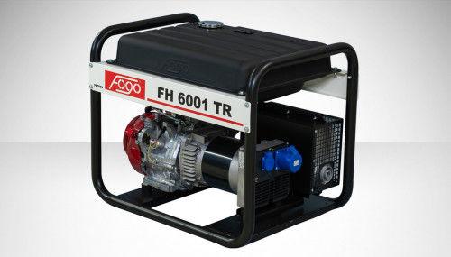 Fogo FH 6001 TR Agregat prądotwórczy jednofazowy 230V, moc max - 6,2 kW - AVR automatyczny regulator napięcia, powiększony zbiornik paliwa