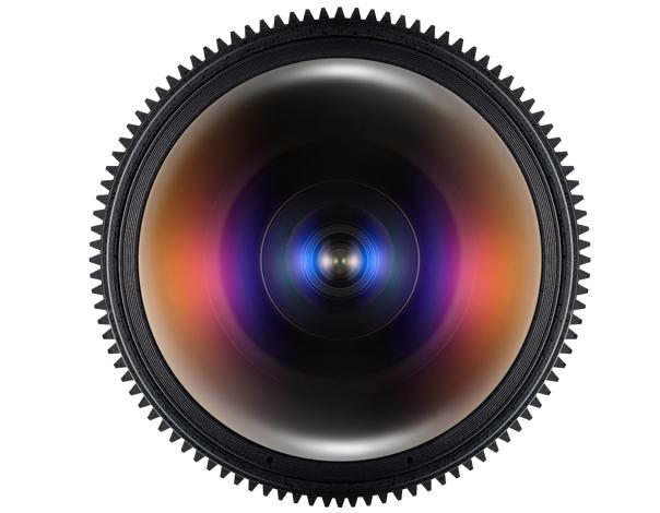 Samyang 12mm T3.1 VDSLR ED AS NCS FISH-EYE - obiektyw do Sony E Samyang 12mm T3.1 VDSLR ED AS NCS FISH-EYE