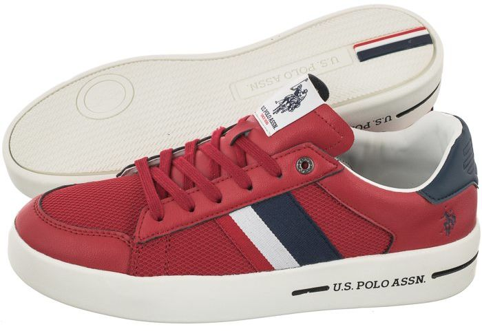 Sneakersy U.S. Polo Assn. Vega141 Red VEGA4141S1/LT1 (US56-d)