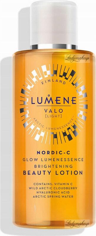 LUMENE - VALO - NORDIC-C GLOW LUMENESSENCE BRIGHTENING BEAUTY LOTION - Rozświetlający tonik do twarzy - 150 ml