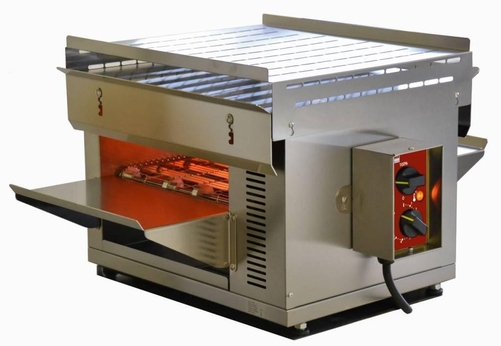 """Piekarnik taśmowy D. 300 mm (W.110) z kwarcem """"S-POWER"""" 3000W 230V 470x720x(H)385mm"""