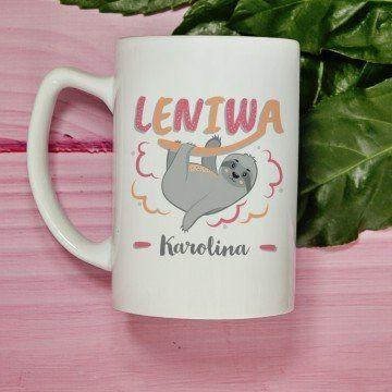 Leniwa - Personalizowany Kubek