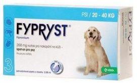 Fypryst Spot On 268 mg / 2,68 ml dla Psów 20 - 40 kg 3 Pipety