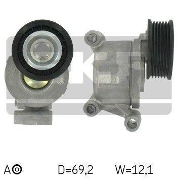 napinacz paseka wieloklinowego napędu alternatora - 1.8 / 2.0 DURATEC