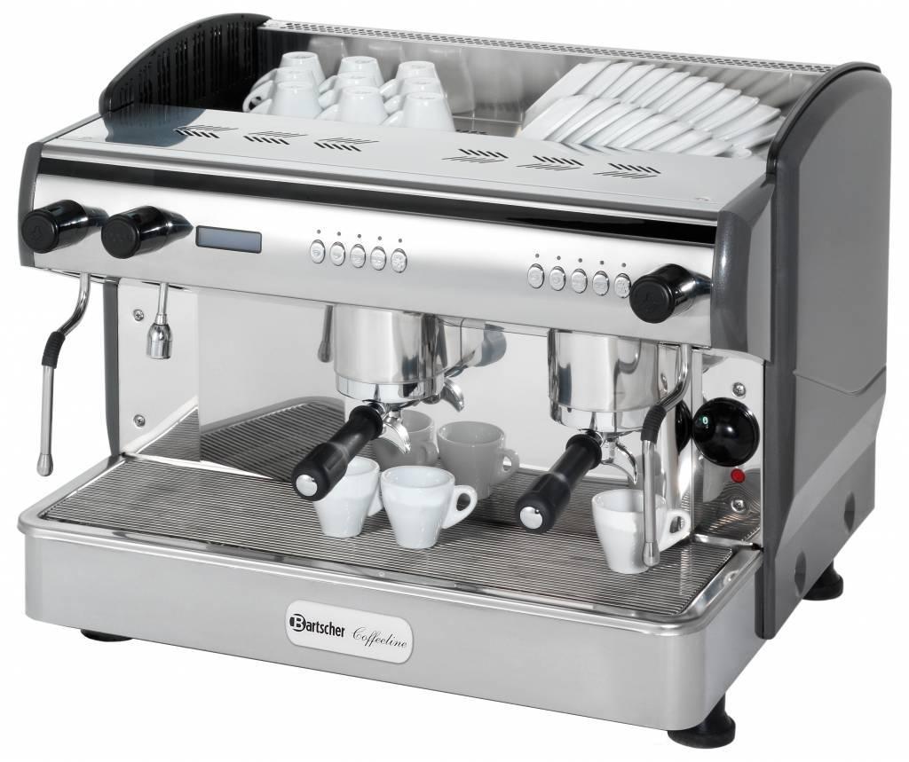 Bartscher Ekspres ciśnieniowy do kawy 2-grupowy Coffeeline G2 3300W - kod 190161