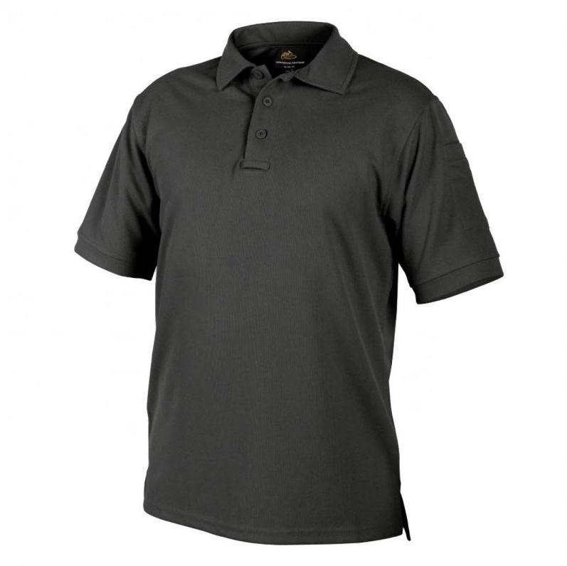 Koszulka termoaktywna Polo Helikon UTL TopCool Black (PD-UTL-TC-01)