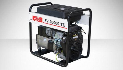 Fogo FV 20000 TE Agregat prądotwórczy trójfazowy 400V/230V - elektryczny rozrusznik, powiększony zbiornik paliwa