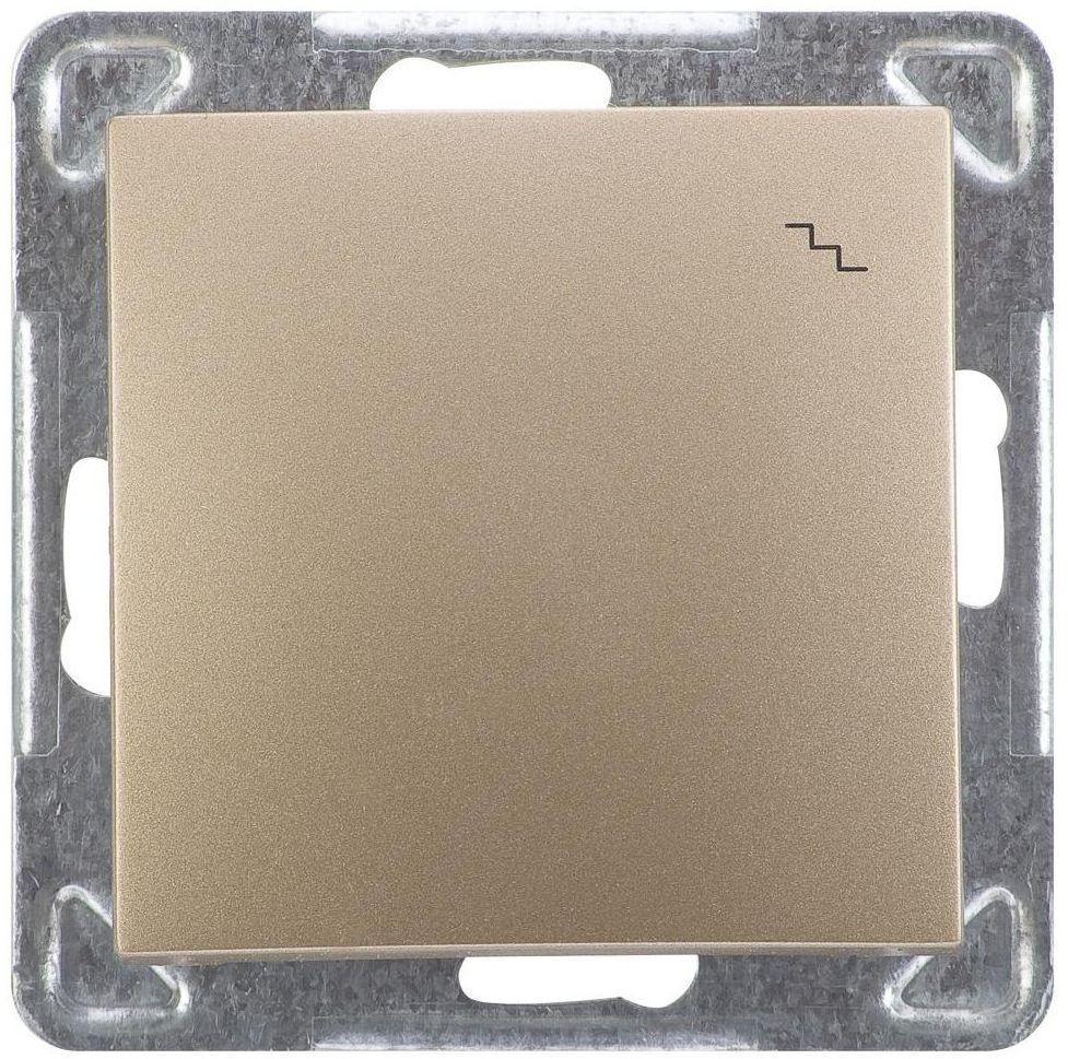Włącznik schodowy IMPRESJA Złoty OSPEL