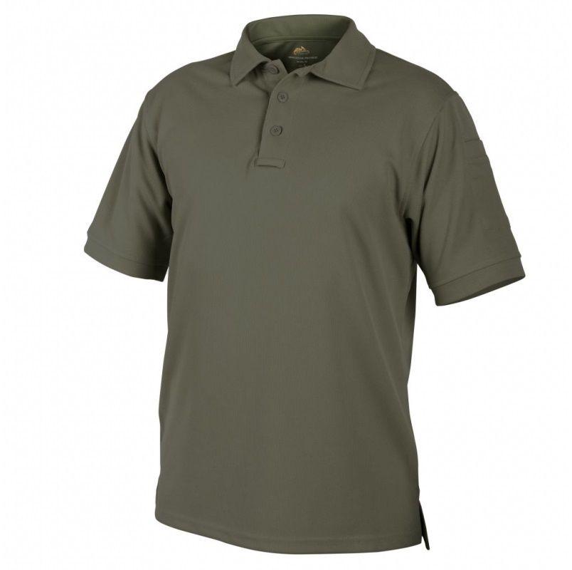 Koszulka termoaktywna Polo Helikon UTL TopCool Olive Green (PD-UTL-TC-02)