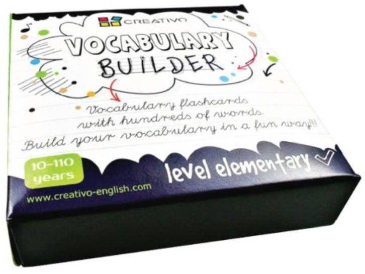 Karty językowe Angielski Vocabulary builder Elementary