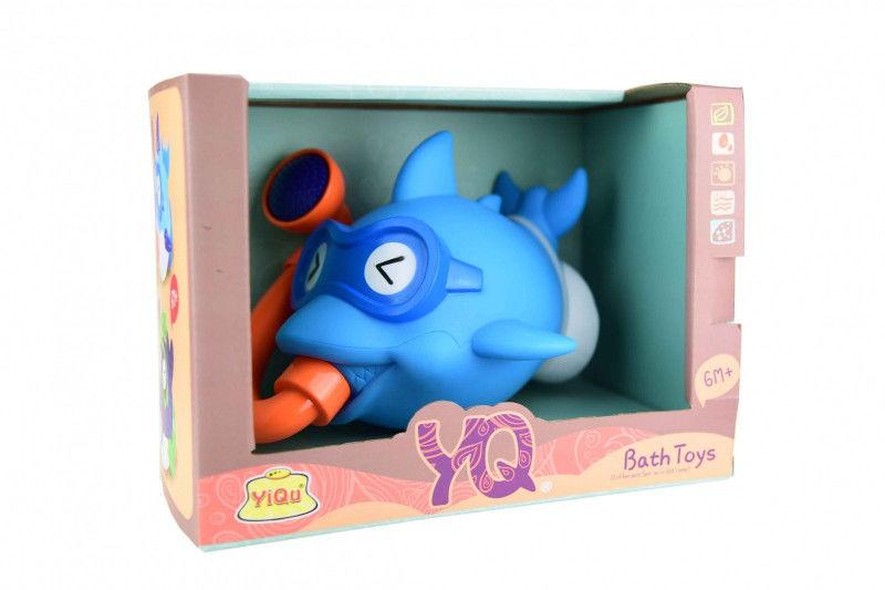 Zestaw zabawek do wody-rybka niebieska