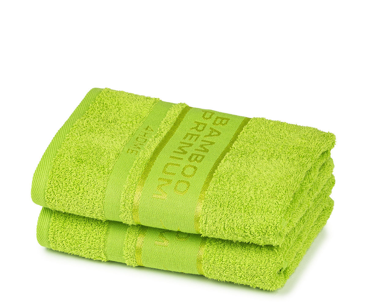 4Home Ręcznik Bamboo Premium zielony, 30 x 50 cm, komplet 2 szt.