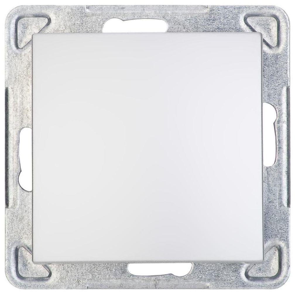 Włącznik pojedynczy IMPRESJA Srebrny OSPEL