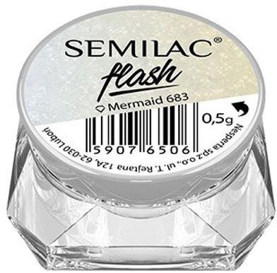 Semilac Flash Mermaid 683 pyłek efekt syrenki