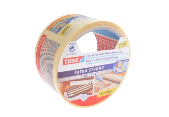 Taśma do wykładzin Tesa mocna Extra Strong długość 5 m. szerokość 50 mm.